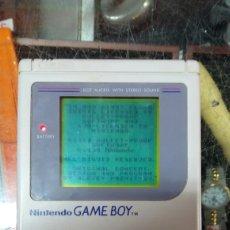 Videojuegos y Consolas: NINTENDO GAME BOY + JUEGO(TETRIS). Lote 117348435