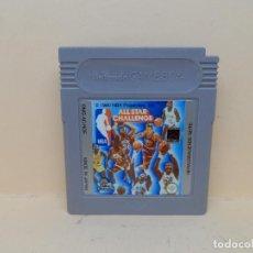 Videojuegos y Consolas: NINTENDO GAMEBOY NBA ALL STAR CHALLENGE PAL. Lote 117351947