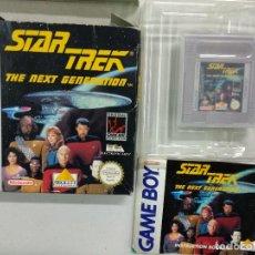 Videojuegos y Consolas: STAR TREK THE NEXT GENERATION - PAL - GAME BOY - GAMEBOY GB - COMPLETO. Lote 117558575