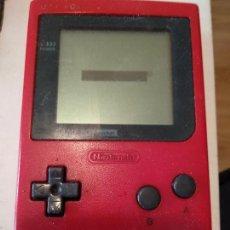 Videojuegos y Consolas: GAME BOY POCKET NINTENDO ROJA. Lote 118203647