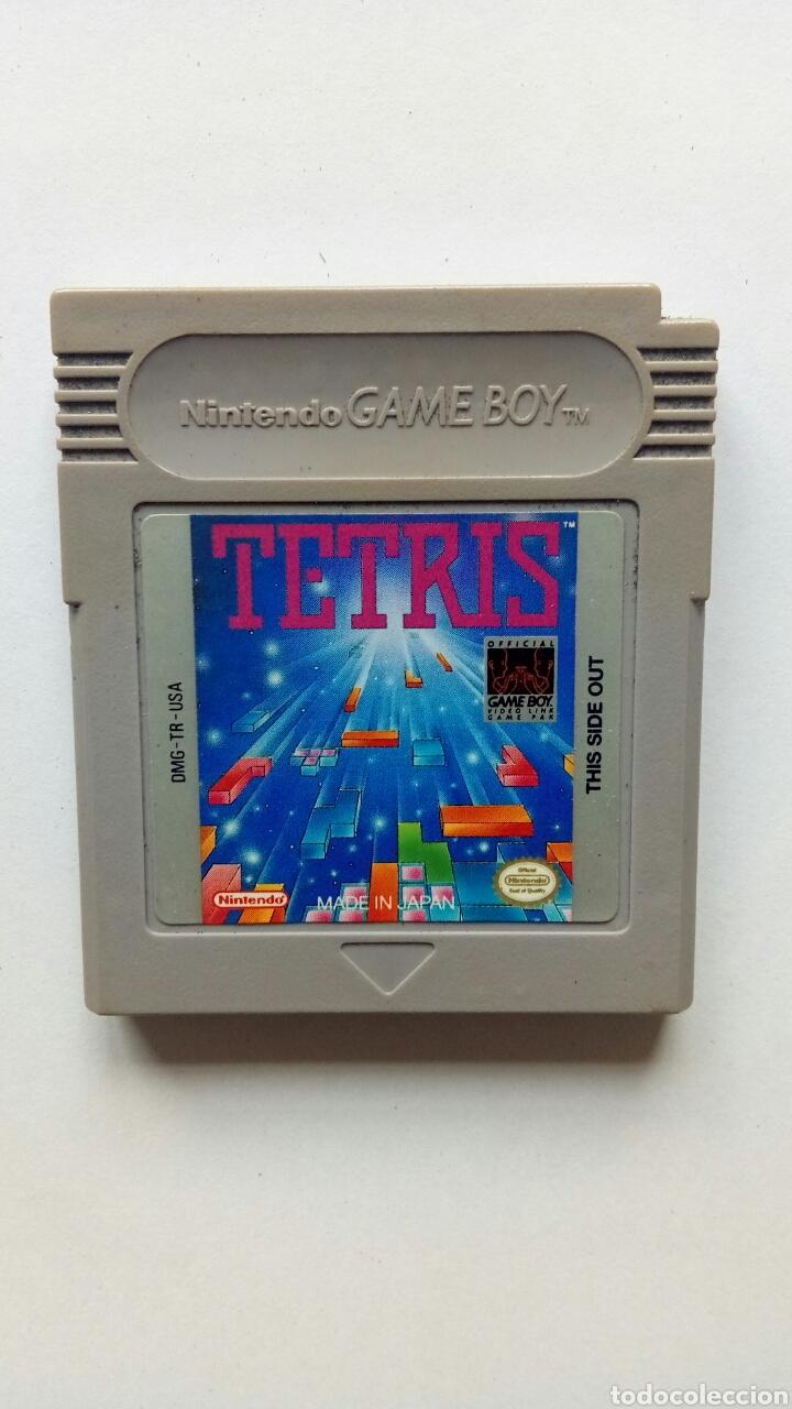 JUEGO DE GAME BOY. TETRIS. NINTENDO. AÑOS 90 (Juguetes - Videojuegos y Consolas - Nintendo - GameBoy)