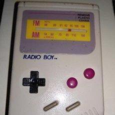 Videojuegos y Consolas: RADIO BOY DE NINTENDO GAME BOY NUEVA A ESTRENAR. Lote 121062275