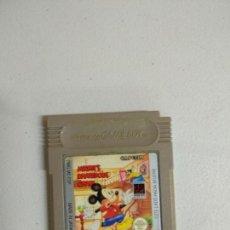 Videojuegos y Consolas: MICKEY'S DANGEROUS CHASE - GAME BOY GAMEBOY GB - PAL ESP. Lote 121597547