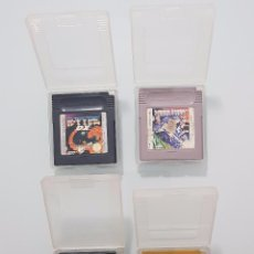 Videojuegos y Consolas: LOTE JUEGOS NINTENDO GAMEBOY - MEGAMAN POKEMON ORO R-TYPE DX GAME & WATCH GALLERY GAME BOY. Lote 123029223