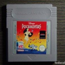 Videojuegos y Consolas: JUEGO NINTENDO GAME BOY - POCAHONTAS. Lote 126073091