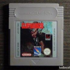 Videojuegos y Consolas: JUEGO NINTENDO GAME BOY - CLIFFHAGER. Lote 126073111