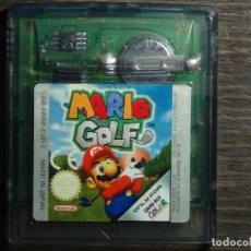 Videojuegos y Consolas: JUEGO NINTENDO GAME BOY - MARIO GOLF. Lote 126073171