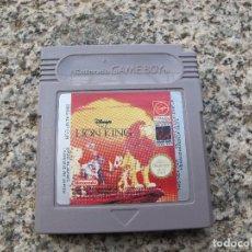 Videojuegos y Consolas: JUEGO LION KING - NINTENDO GAME BOY GAMEBOY. Lote 126841895