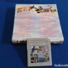 Videojuegos y Consolas: JUEGO PARA GAME BOY ( NO NINTENDO ) 32 JUEGOS EN 1 COMPRADO EN LOS INDIOS DE CANARIAS AÑOS 90. Lote 127597359