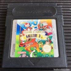 Videojuegos y Consolas: JUEGO NINTENDO GAME BOY, GAME & WATCH GALLERY 3, NO TESTEADO. Lote 127643303