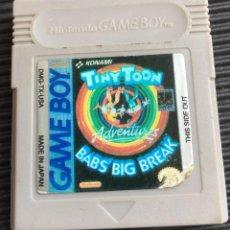 Videojuegos y Consolas: JUEGO NINTENDO GAME BOY, TINY TOON ADVENTURES, NO TESTEADO. Lote 127643387