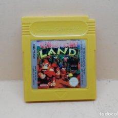 Videojuegos y Consolas: GAMEBOY DONKEY KONG LAND PAL. Lote 127934451