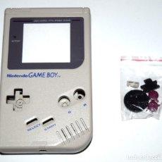 Videojuegos y Consolas: CARCASA REPUESTO GAMEBOY DMG-001 GRIS NUEVA. Lote 157130288