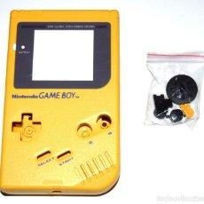 Videojuegos y Consolas: CARCASA REPUESTO GAMEBOY DMG-001 AMARILLA NUEVA. Lote 276497893