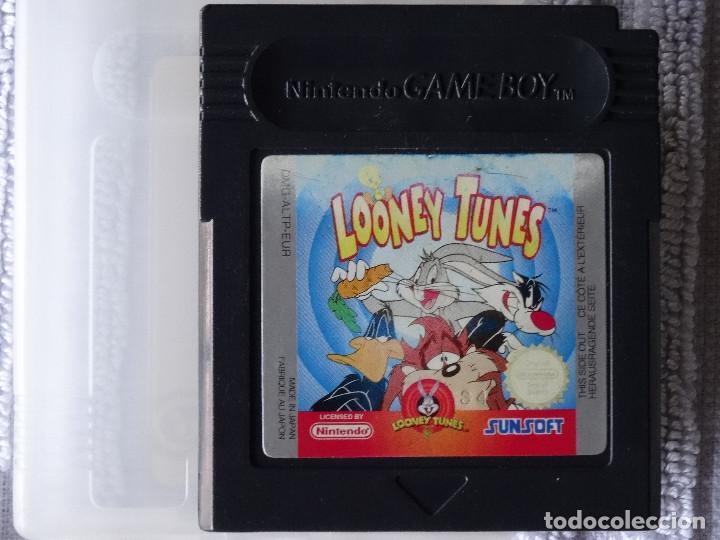 JUEGO PARA NINTENDO GAME BOY - LOONEY TUNES + FUNDA (Juguetes - Videojuegos y Consolas - Nintendo - GameBoy)