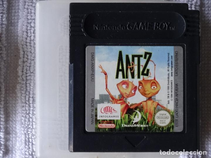JUEGO PARA NINTENDO GAME BOY - ANTZ + FUNDA (Juguetes - Videojuegos y Consolas - Nintendo - GameBoy)