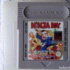 Videojuegos y Consolas: JUEGO PARA NINTENDO GAME BOY - NINJA BOY ESPAÑOL + FUNDA. Lote 129524779