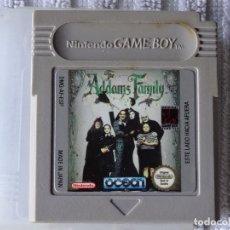 Videojuegos y Consolas: JUEGO PARA NINTENDO GAME BOY - ADDAMS FAMILY ESPAÑOL + FUNDA. Lote 129531387