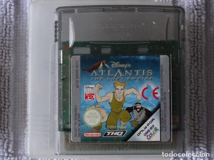 JUEGO PARA NINTENDO GAME BOY - ATLANTIS DISNEY + FUNDA (Juguetes - Videojuegos y Consolas - Nintendo - GameBoy)