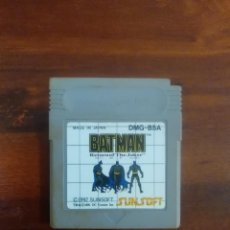Videojuegos y Consolas: BATMAN - THE RETURN OF THE JOKER - NINTENDO GAMEBOY - GBA - PAL. Lote 129628071