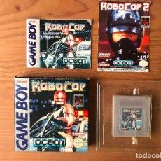 Videojuegos y Consolas: ROBOCOP GAME BOY VERSION ESPAÑOLA - CAJA Y MANUAL EN CASTELLANO. Lote 131951810