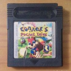 Videojuegos y Consolas: CONKER'S POCKET TALES NINTENDO GAME BOY. Lote 132205786