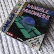 Videojuegos y Consolas: JUEGO PARA NINTENDO GAME BOY - MARBLE MADNESS PRECINTADO NEW ESPAÑOLA PAL. Lote 132252542