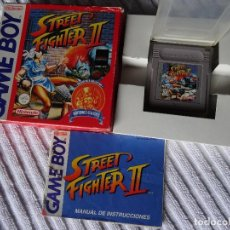 Videojuegos y Consolas: JUEGO PARA NINTENDO GAME BOY - STREET FIGHTER II VERSIÓN ESPAÑOLA PAL. Lote 132275302