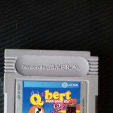 Videojuegos y Consolas: QBERT GAME BOY CLASICA. Lote 132260901