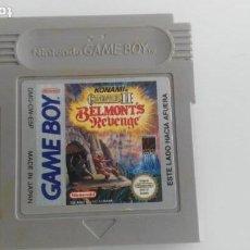 Videojuegos y Consolas: JUEGAZO PARA LA NINTENDO GAME BOY CASTLEVANIA II 2. Lote 133099682