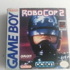 Videojuegos y Consolas: ANTIGUA CAJA DE GAME BOY ORIGINAL AL 100% ROBOCOP 2. Lote 133101706