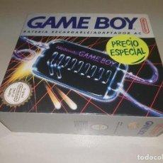 Videojuegos y Consolas: 918- GAME BOY - BATERIA RECARGABLE /ADAPTADOR AC ( ESPAÑA) DMG A RB / 1991 -NEW/RARE. Lote 117719811