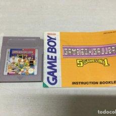 Videojuegos y Consolas: GAME BOY GALLERY 5 GAMES IN 1 - GAME BOY GAMEBOY GB - PAL. Lote 133376674