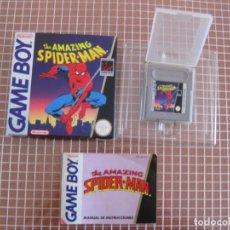 Videojuegos y Consolas: GB THE AMAZING SPIDER-MAN PAL ESPAÑA COMPLETO GAME BOY CLASICA NINTENDO ERBE. Lote 133549358