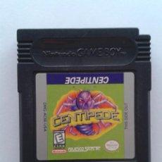 Videojuegos y Consolas: JUEGO NINTENDO GAME BOY CENTIPEDE SOLO CARTUCHO PAL R8013. Lote 170935994