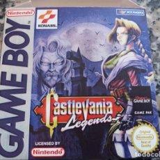 Videojuegos y Consolas: CASTLEVANIA LEGENDS PARA GAME BOY. Lote 135504054