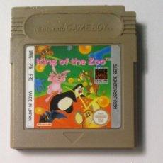 Videojuegos y Consolas: KING OF THE ZOO - NINTENDO GAME BOY. Lote 137647830
