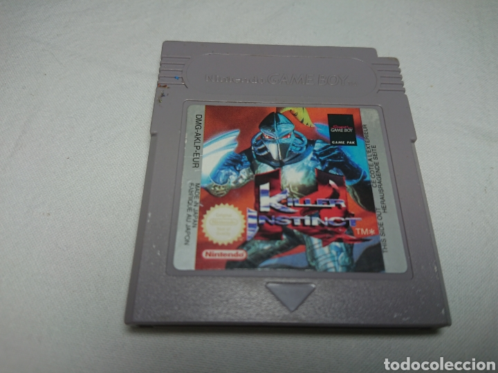 KILLER INSTINCT CARTUCHO NINTENDO GAMEBOY GAME BOY (Juguetes - Videojuegos y Consolas - Nintendo - GameBoy)