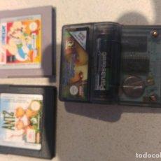 Videojuegos y Consolas: LOTE 3 JUEGOS GAMEBOY GB NINTENDO . Lote 139717754