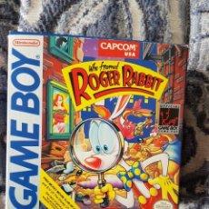 Videojuegos y Consolas: ROGER RABBIT GAME BOY. Lote 139748114