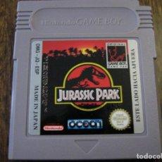 Videojuegos y Consolas: JURASSIC PARK - NINTENDO GAME BOY - CON MANUAL EN ESPAÑOL . Lote 139931514