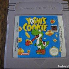 Videojuegos y Consolas: YOSHI'S COOKIE - NINTENDO GAME BOY. Lote 139937386