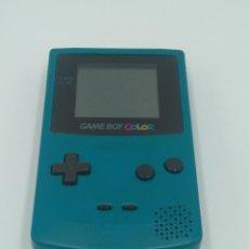 Videojuegos y Consolas: GAME BOY COLOR VERDE AZULADO NINTENDO. Lote 140127866