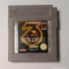 Videojuegos y Consolas: MORTAL KOMBAT 3 - NINTENDO GAME BOY. Lote 140320974
