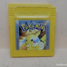 Videojuegos y Consolas: GAMEBOY POKEMON AMARILLO PAL ESP. Lote 140415982