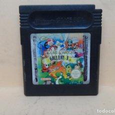 Videojuegos y Consolas: GAMEBOY GAME & WATCH GALLERY 3 PAL. Lote 140462518