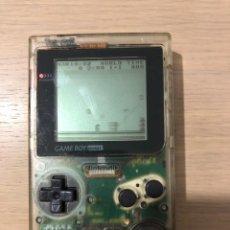 Videojuegos y Consolas: GAMEBOY POCKET TRANSPARENTE. Lote 142297910
