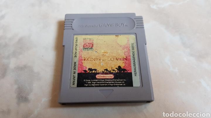 JUEGO EL REY LEON NINTENDO GAME BOY ALEMAN (Juguetes - Videojuegos y Consolas - Nintendo - GameBoy)
