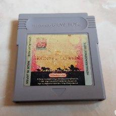 Videojuegos y Consolas: JUEGO EL REY LEON NINTENDO GAME BOY ALEMAN. Lote 142311053