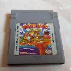 Videojuegos y Consolas: JUEGO SUPER MARIO LAND WARIO LAND NINTENDO GAMEBOY. Lote 142313325
